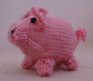 Little Pig- FREE PATTERN | knittingwithoutanet